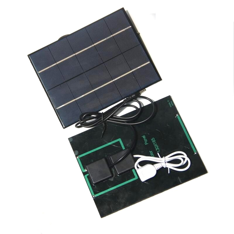 3.5W 5V Polysilicon Epoxy Solar Panel Cell Battery Charger