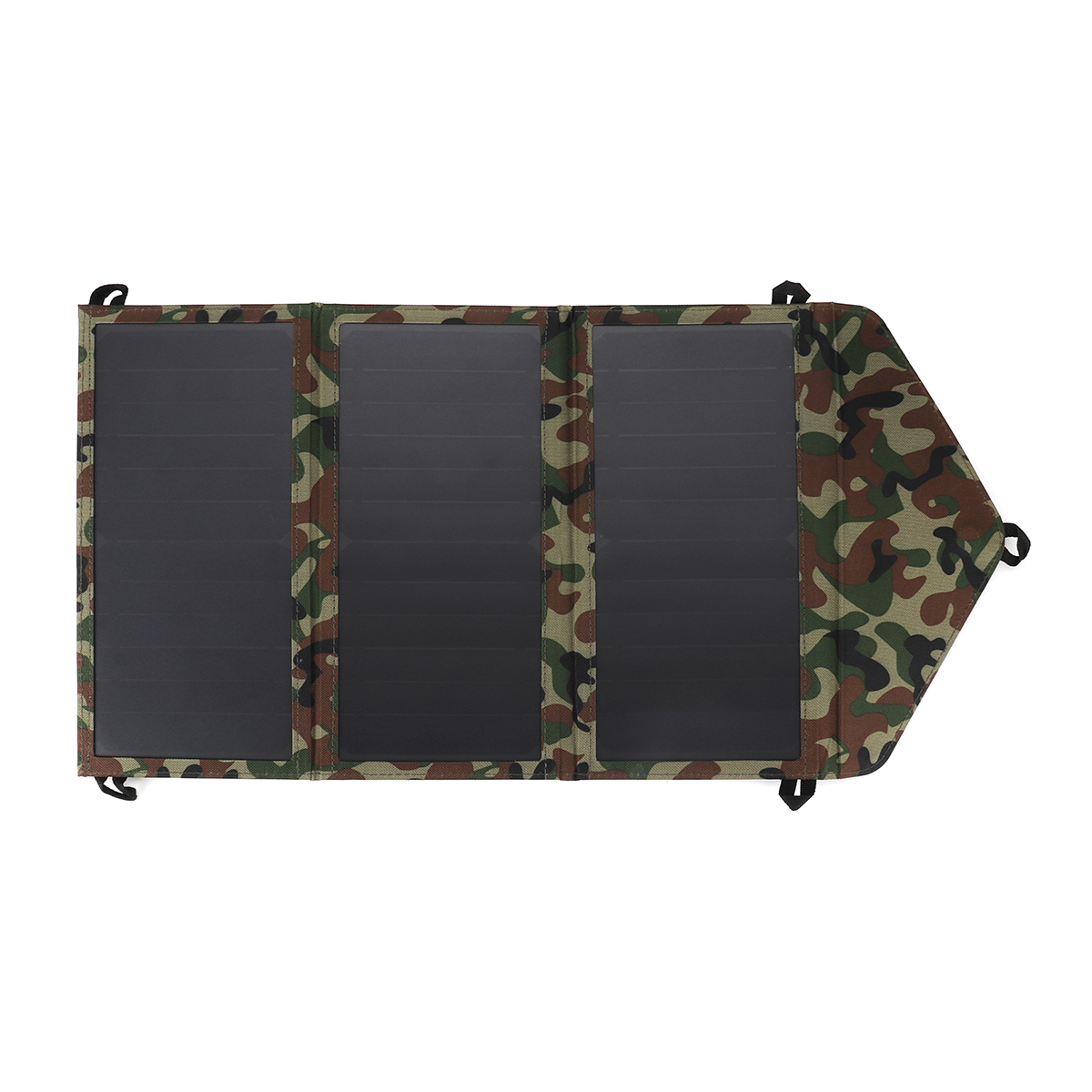14W 5V Folding Solar Panel Battery Charger Camouflage