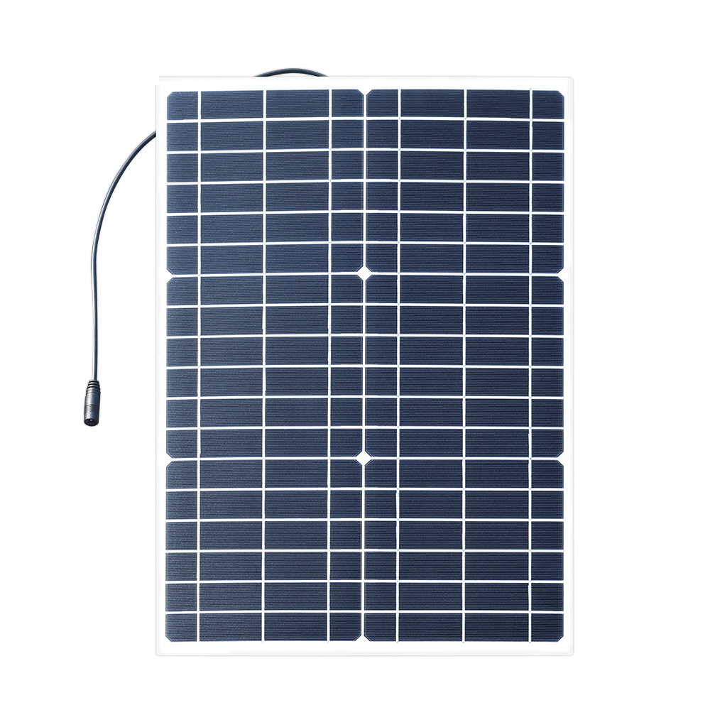 30W 18V Flexible Solar Panel Battery Charger
