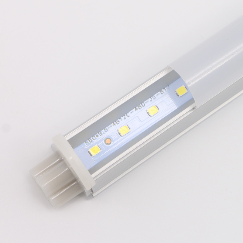 T5 Integrated LED Tube Light 0.3m/0.6m/0.9m/1m/1.2m AC 85V-265V With Male and Female Connector