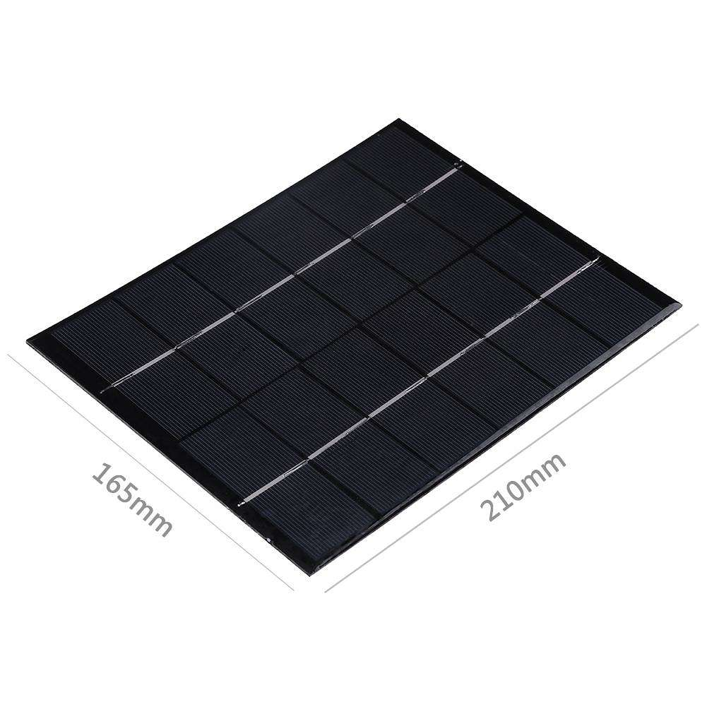 5.2W 6V Polysilicon Epoxy Solar Panel Cell Battery Charger