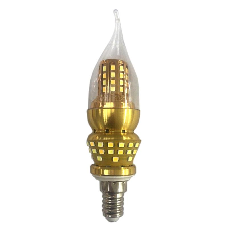 9W E14 2835 SMD LED Edison Bulb 220V Home Light LED Filament Candle Bulb