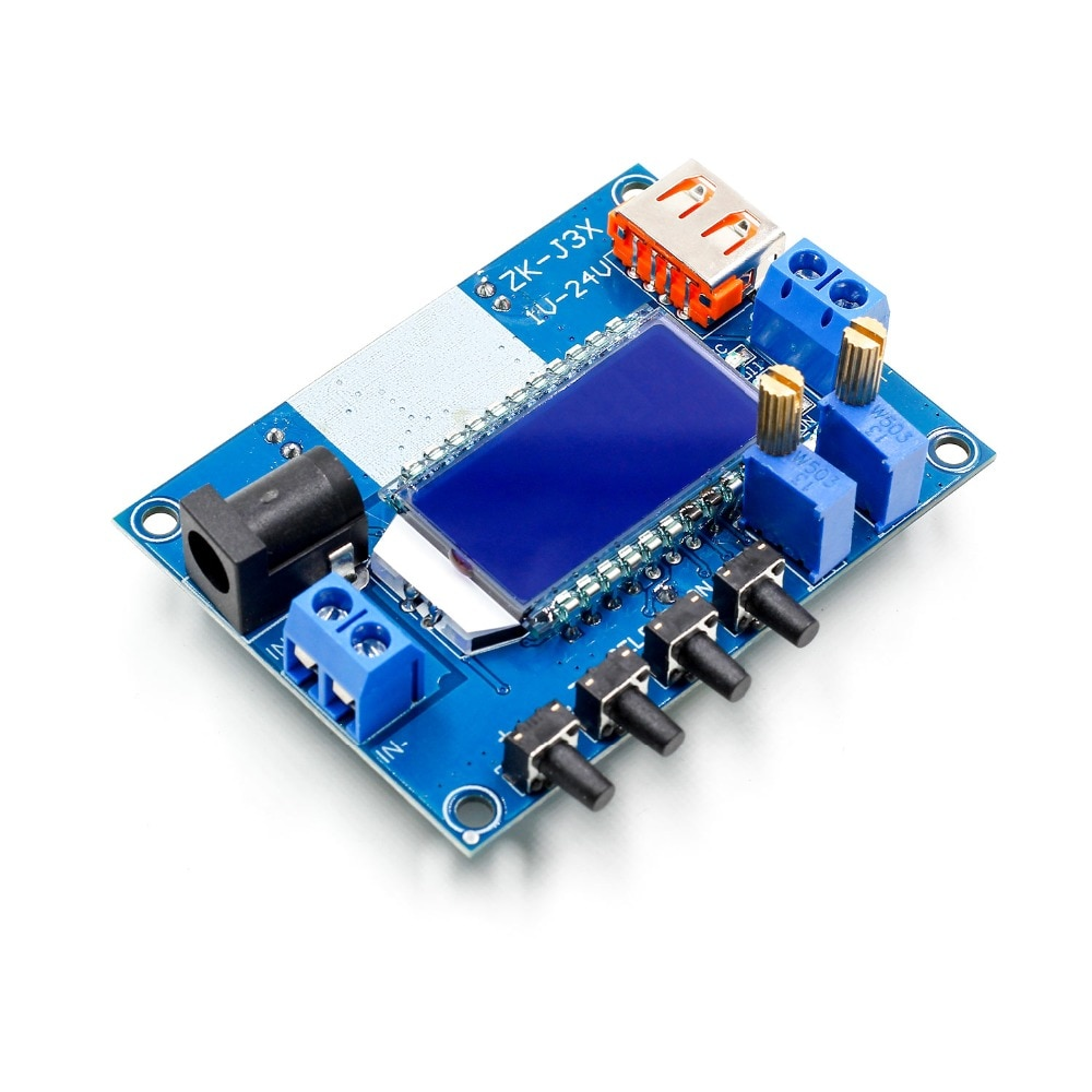 1-24V 3A DC Buck Converter CC CV Regulated Power Supply Module Capacity Voltage Meter