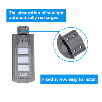 20W 40W 60W 2835 SMD Integrated Solar LED Street Light