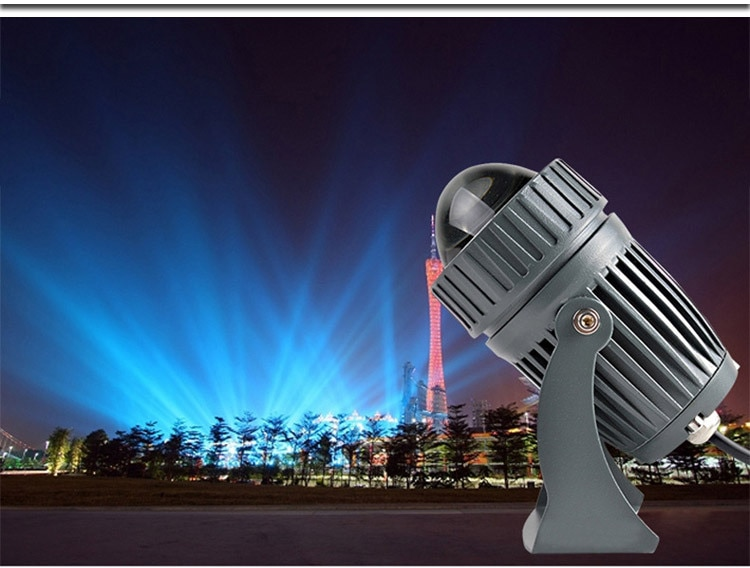 3W AC110V/220V Mini LED Floodlight Outdoor Landscape Spotlight