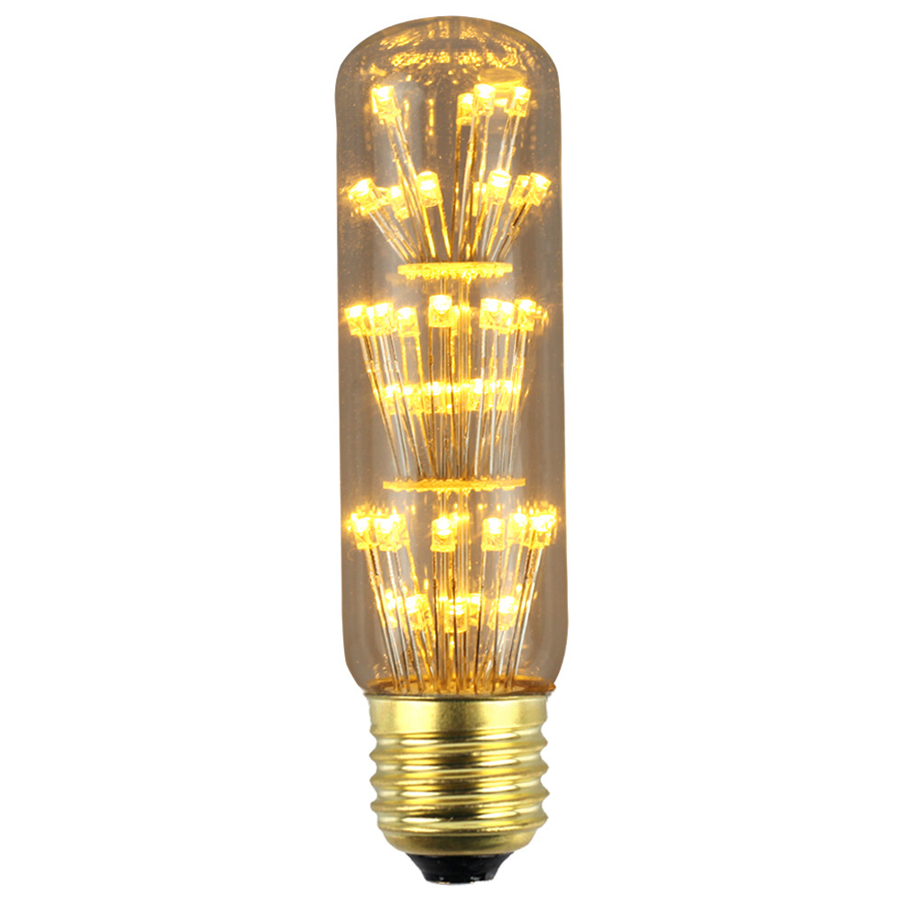 3W E27 T28 LED Edison Bulb AC85-265V Home Light LED Filament Light Bulb