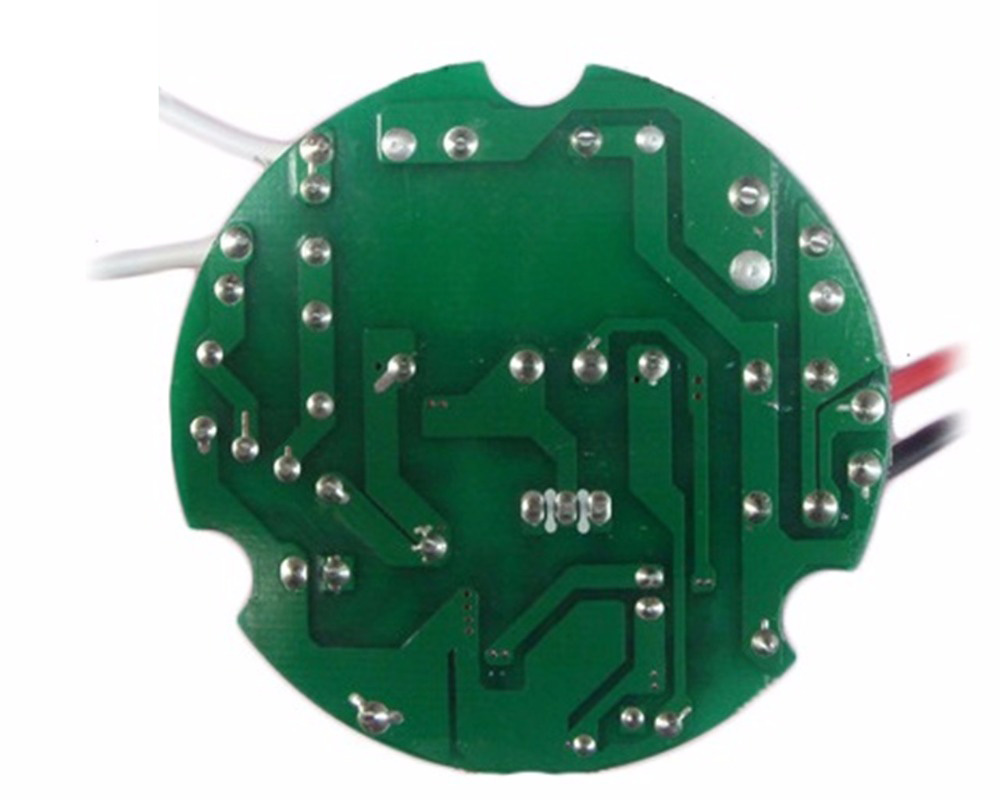 300W 8-9A LED Constant Current Driver 90-265V/300V Input Round Plate No Flicker Power Adapter