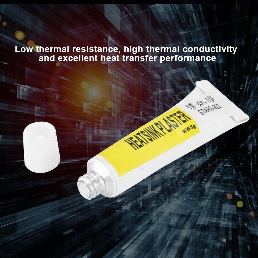 PC CPU GPU Thermal Silicone Grease Compound Glue Heatsink Plaster STARS-922