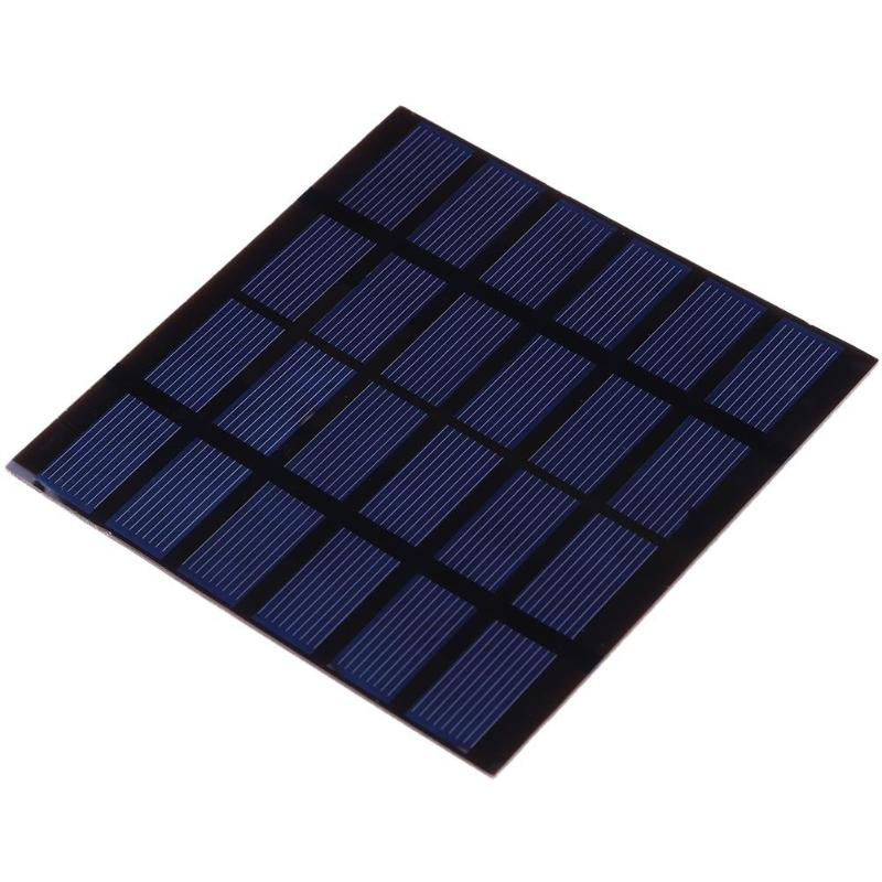 1.5W 6V Polysilicon PET Solar Panel Battery Charger