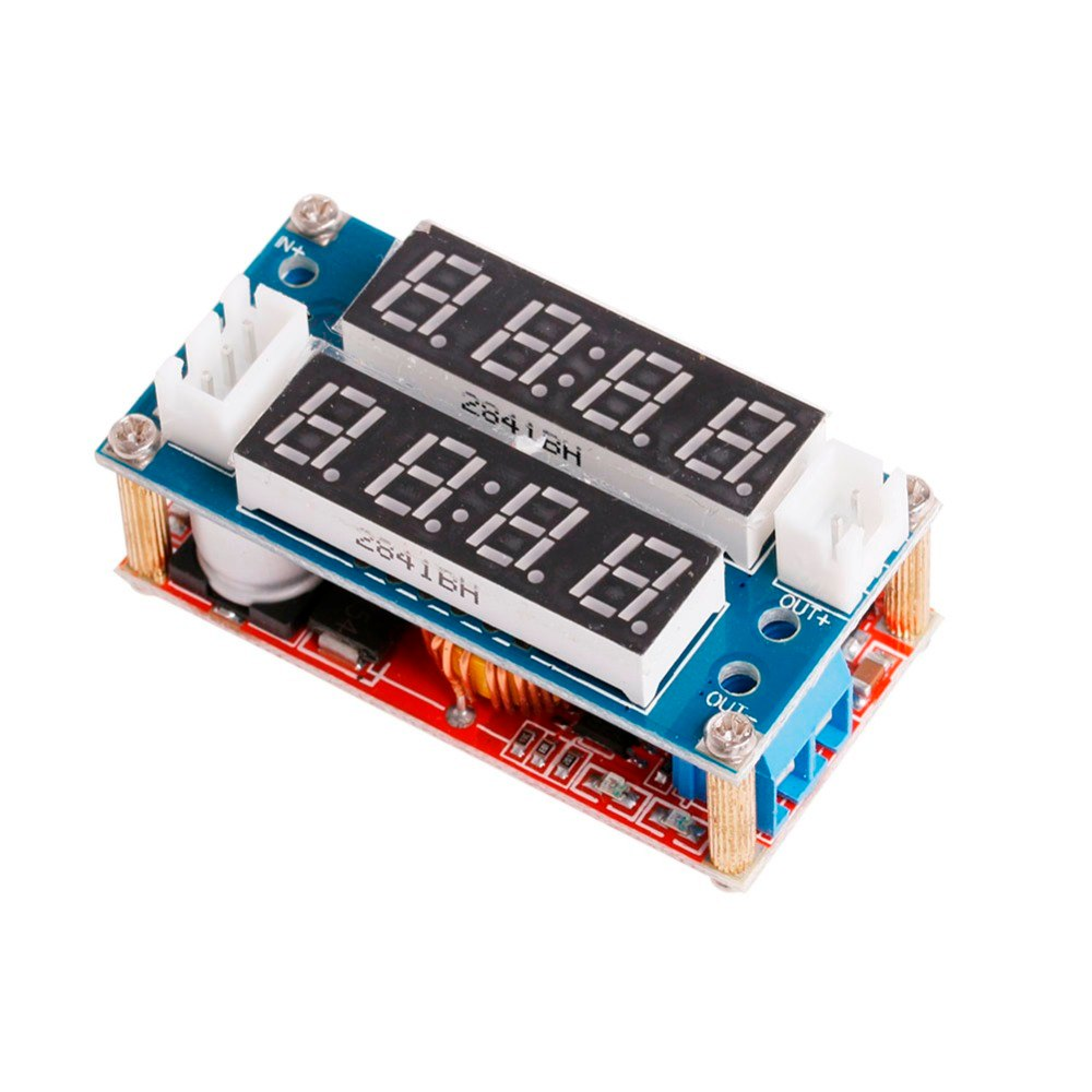 5A Charge Driver Ammeter Voltmete Module Adjustable Power