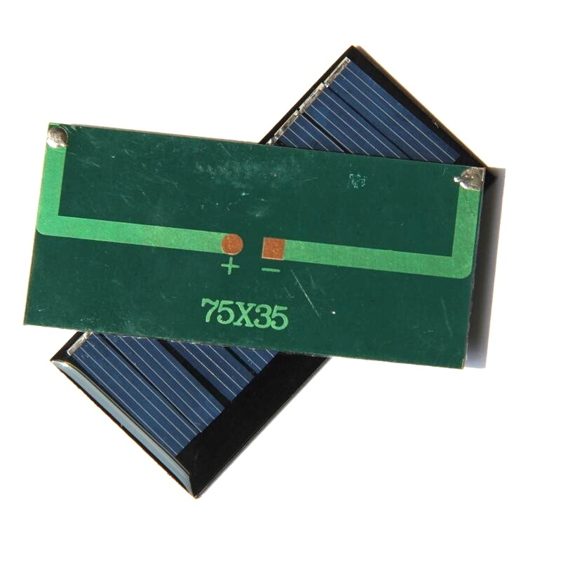 0.33W 5.5V Polysilicon Epoxy Solar Panel Cell Battery Charger