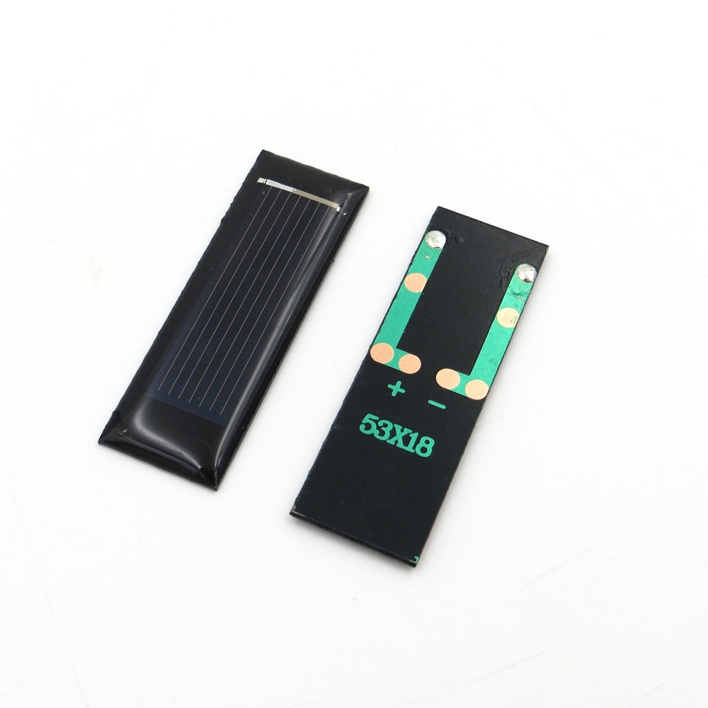0.05W 0.5V Polysilicon Epoxy Solar Panel Cell Battery Charger
