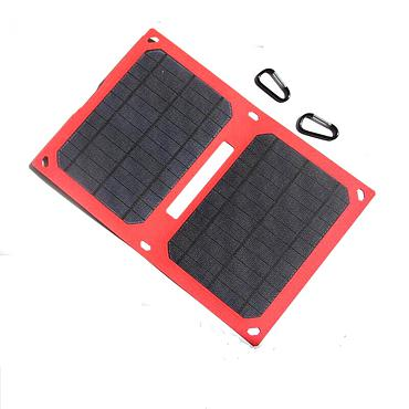 12W 5V Folding Portable Solar Panel Battery Charger
