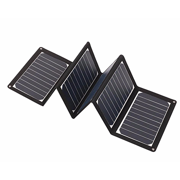36W 18V Folding Solar Panel Battery Charger