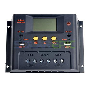 40A 12V/24V Solar Charge Controller with USB Output