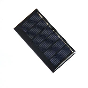 0.24W 3V Polysilicon Epoxy Solar Panel Cell Battery Charger