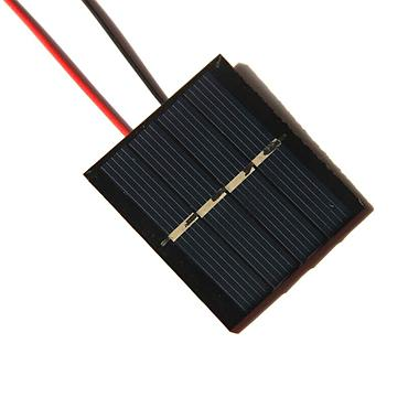 0.36W 2V Epoxy Solar Panel Cell Battery Charger+Wire