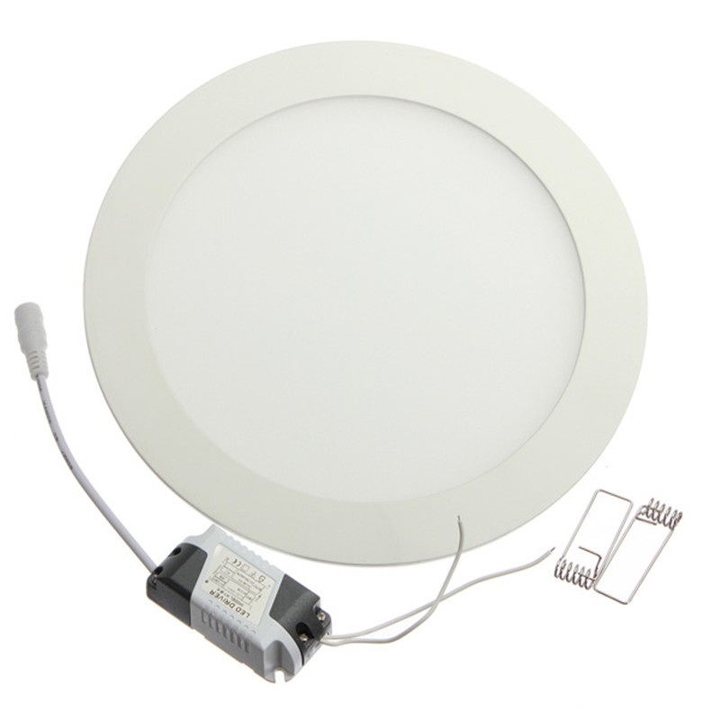 3W 4W 6W 9W 12W 15W 18W 24W AC85-265V LED Round Panel Light Downlight