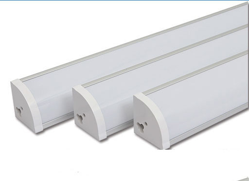 1.2m 40W T10 Aluminum Integrated Corner Light Emitting White