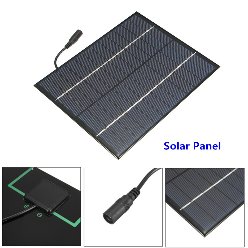 5.2W 12V Polysilicon Epoxy Solar Panel Cell Battery Charger