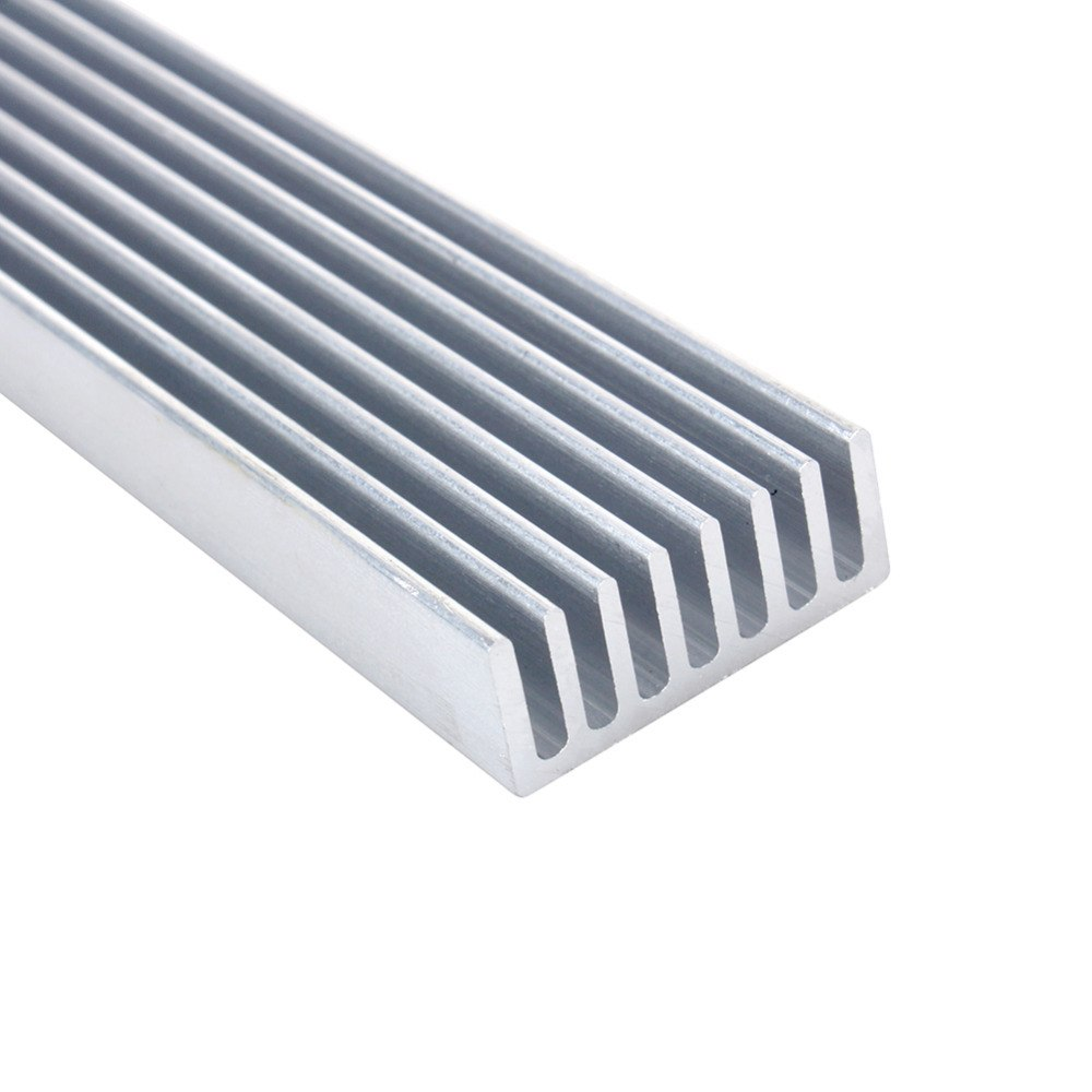 1200*25*12mm Aluminum Heatsink Grille Type for 35*1W or 12*3W Power LED