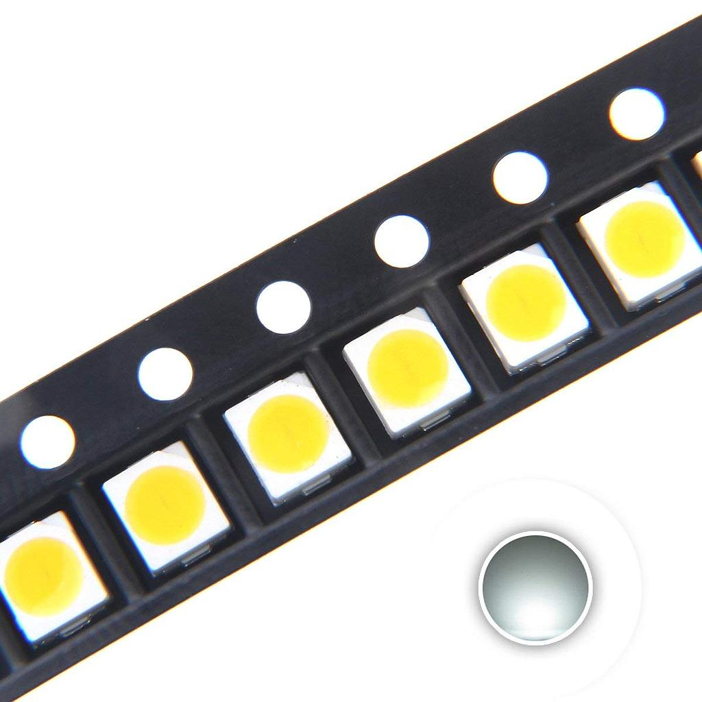 3528 (1210) SMD LED Diode Lights Chips Emitting White/Red/Blue/Green/Orange/Purple/Pink