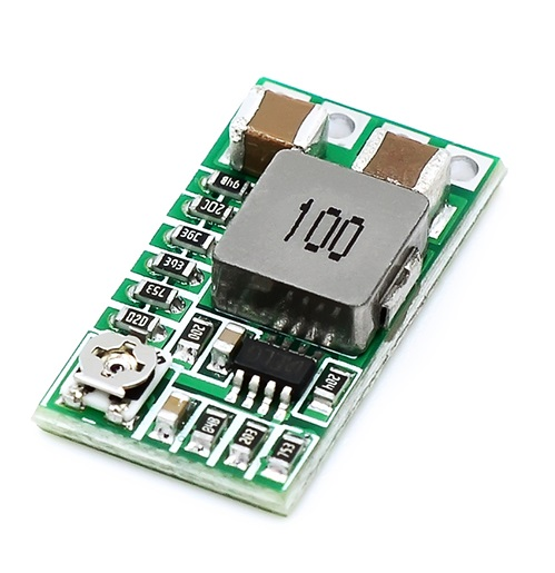 Mini DC-DC Buck Step Down Module  4-24V 12V/24V to 5V 3A Power Module QS-1205CME-3A